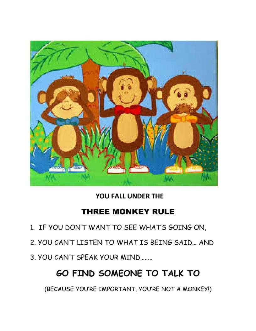 MONKEY RULE TO PRINT1
