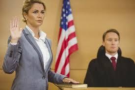 expert testifying