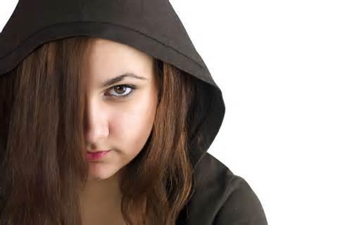 teenager angry